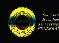 Fenerbahçe Kapak Sözler